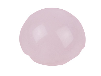 Rose Quartz, Round Cabochon, 6mm