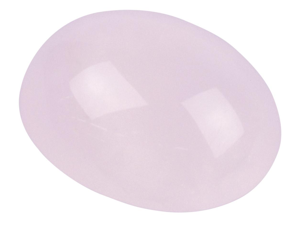 Rose Quartz, Oval Cabochon 10x8mm