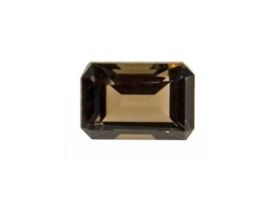 Smokey Quartz 6x4mm Octagon