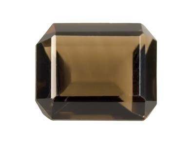 Smokey Quartz 12x10mm Octagon