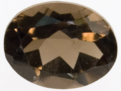 Smokey Quartz 8x6mm Oval