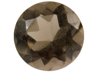 Smokey-Quartz,-Round,-3mm