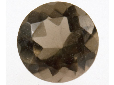 Smokey Quartz, Round, 5mm