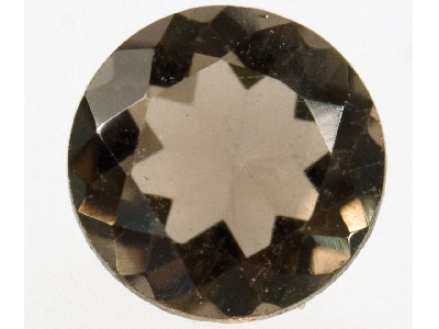 Smokey Quartz, Round, 6mm