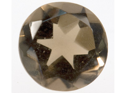 Smokey Quartz, Round, 8mm