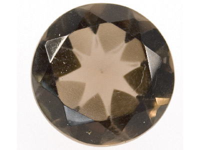 Smokey Quartz, Round, 12mm
