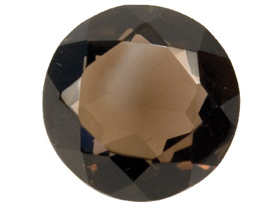 Smokey Quartz, Round, 14mm