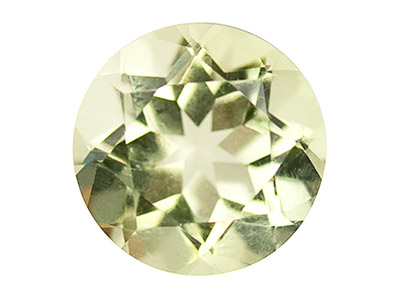 Lemon Quartz, Round, 5mm