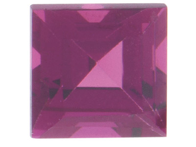 Rhodolite Redpurple Square 4x4mm