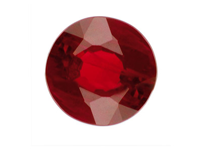 Ruby, Round, 1.5 To 3mm Mixed      Sizes, Pack of 25
