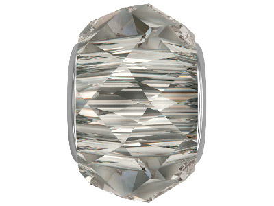 Swarovski Crystal Becharmed        Briolette Charm Bead, 5948, 14mm,  Crystal Satin