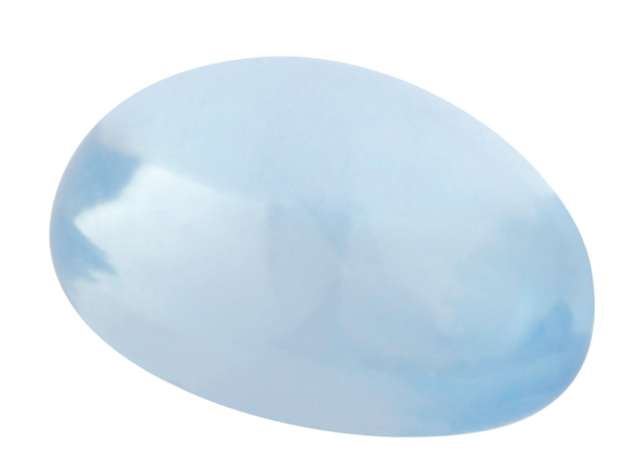 London Blue Topaz, Oval Cabochon   7x5mm, Treated