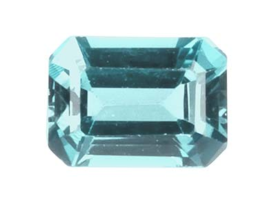 Sky Blue Topaz, Octagon, 10x8mm,   Treated