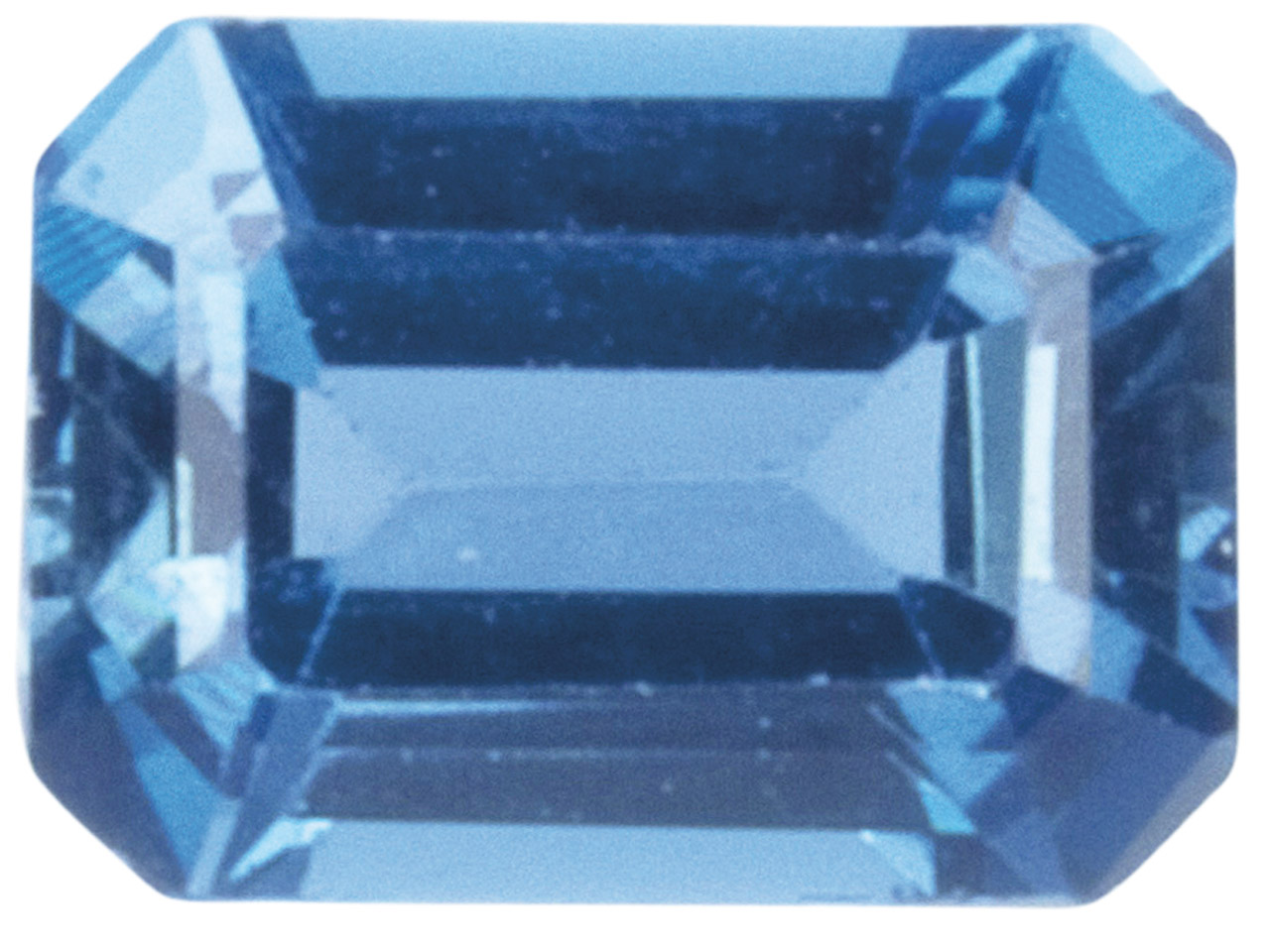 London Blue Topaz, Oct, 8x6mm,     Treated