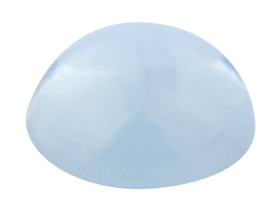 Sky Blue Topaz Round Cabochon     5mm Treated