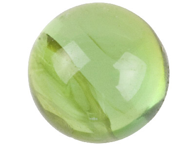 Green Tourmaline, Round Cabochon   5mm