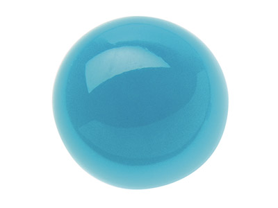 Turquoise,-Round-Cabochon-4mm,-----St...
