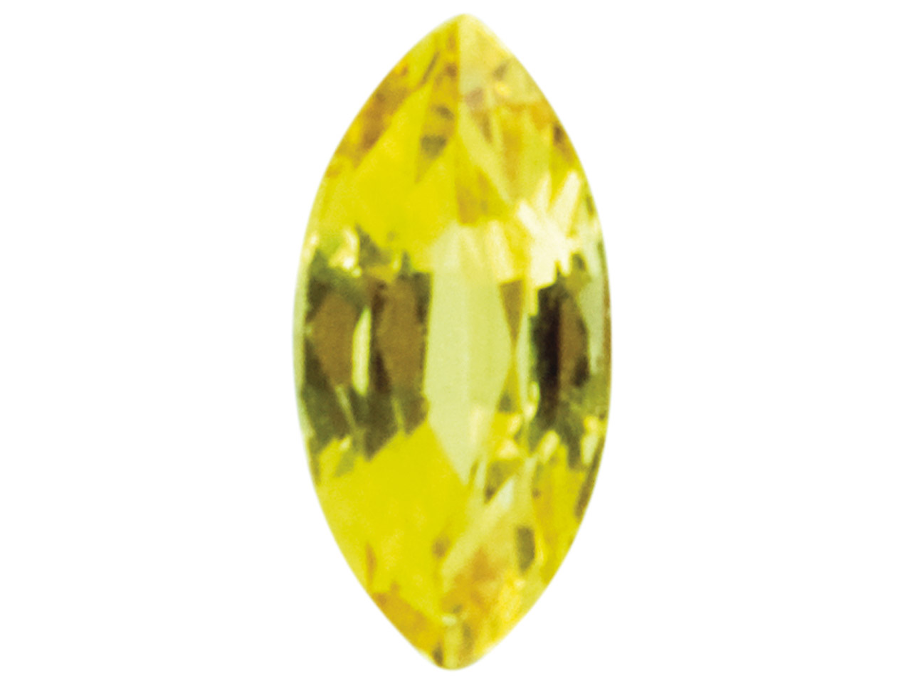 Yellow Sapphire, Marquise 5 X 2.5mm
