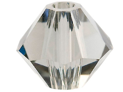 Swarovski Crystal Pack of 24 Bicone 5328 4mm Black Diamond