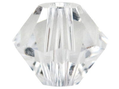 Swarovski Crystal Pack of 24 Bicone, 5328, 4mm Crystal Clear