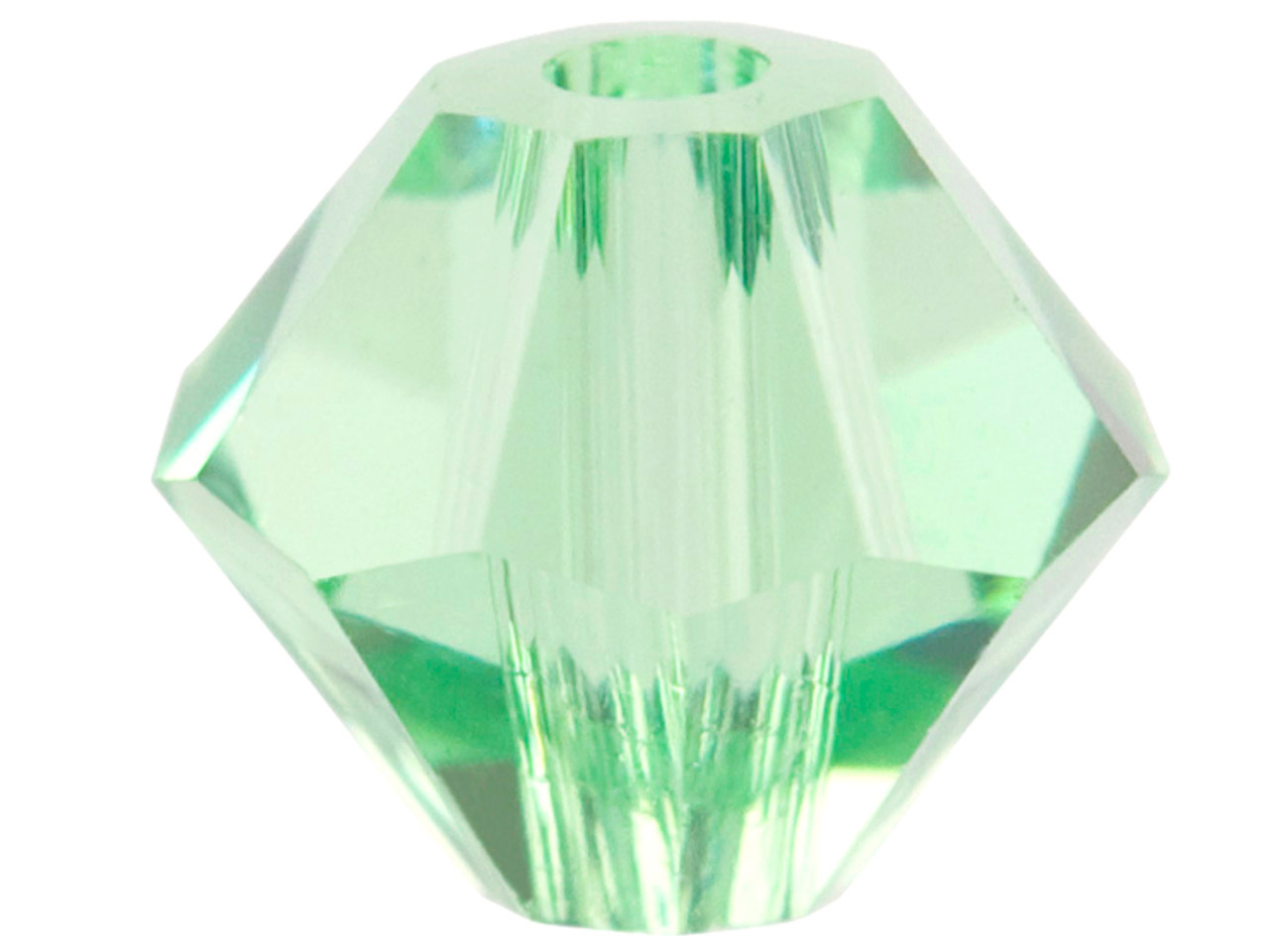 Swarovski Crystal Pack of 24       Bicone, 5328, 4mm Peridot