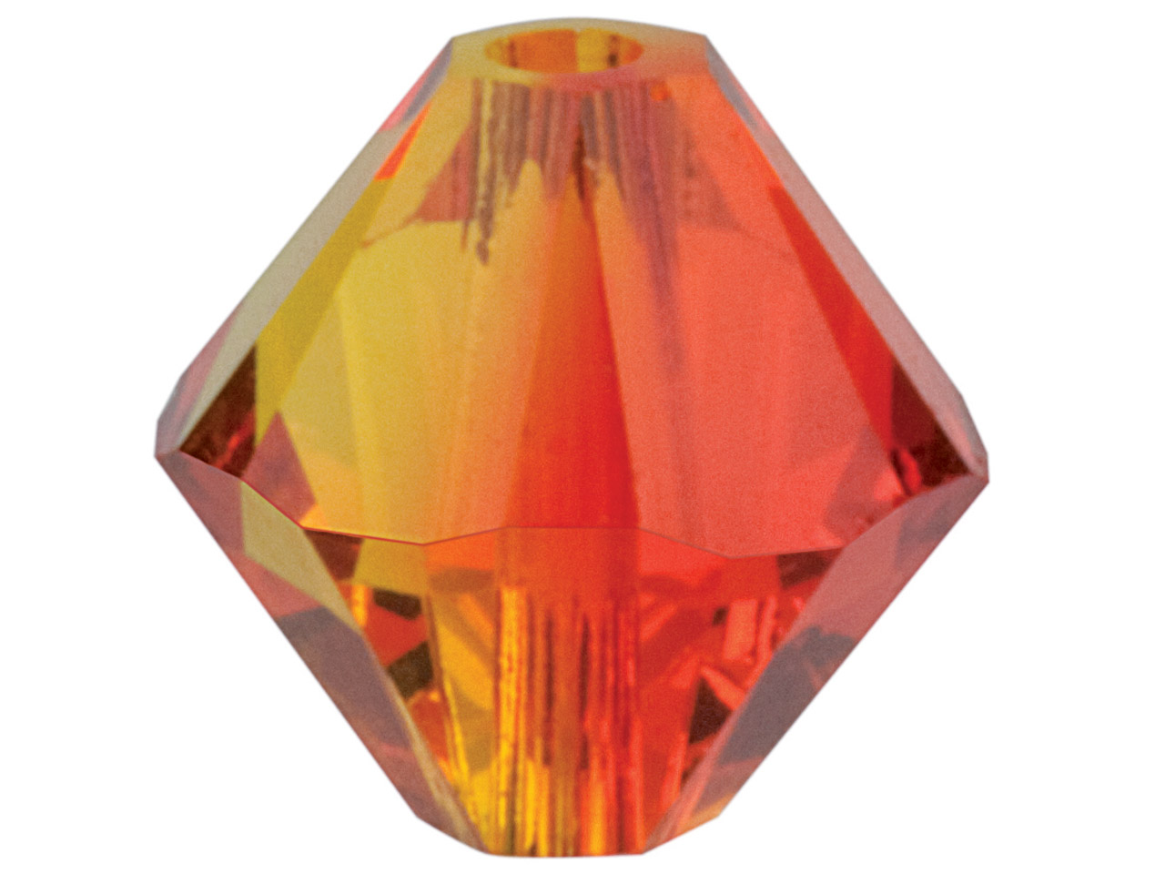 Swarovski Crystal Pack of 24       Bicone, 5328, 4mm Fire Opal