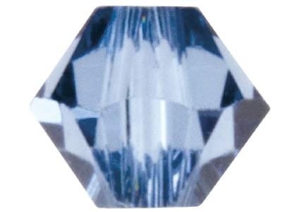 Swarovski Crystal Pack of 24       Bicone, 5328, 4mm Denim Blue
