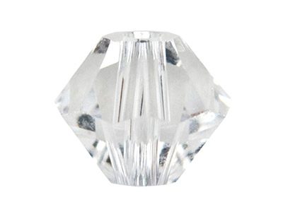 Swarovski Crystal Pack Of 12 Bicone 5328 6mm Crystal Clear