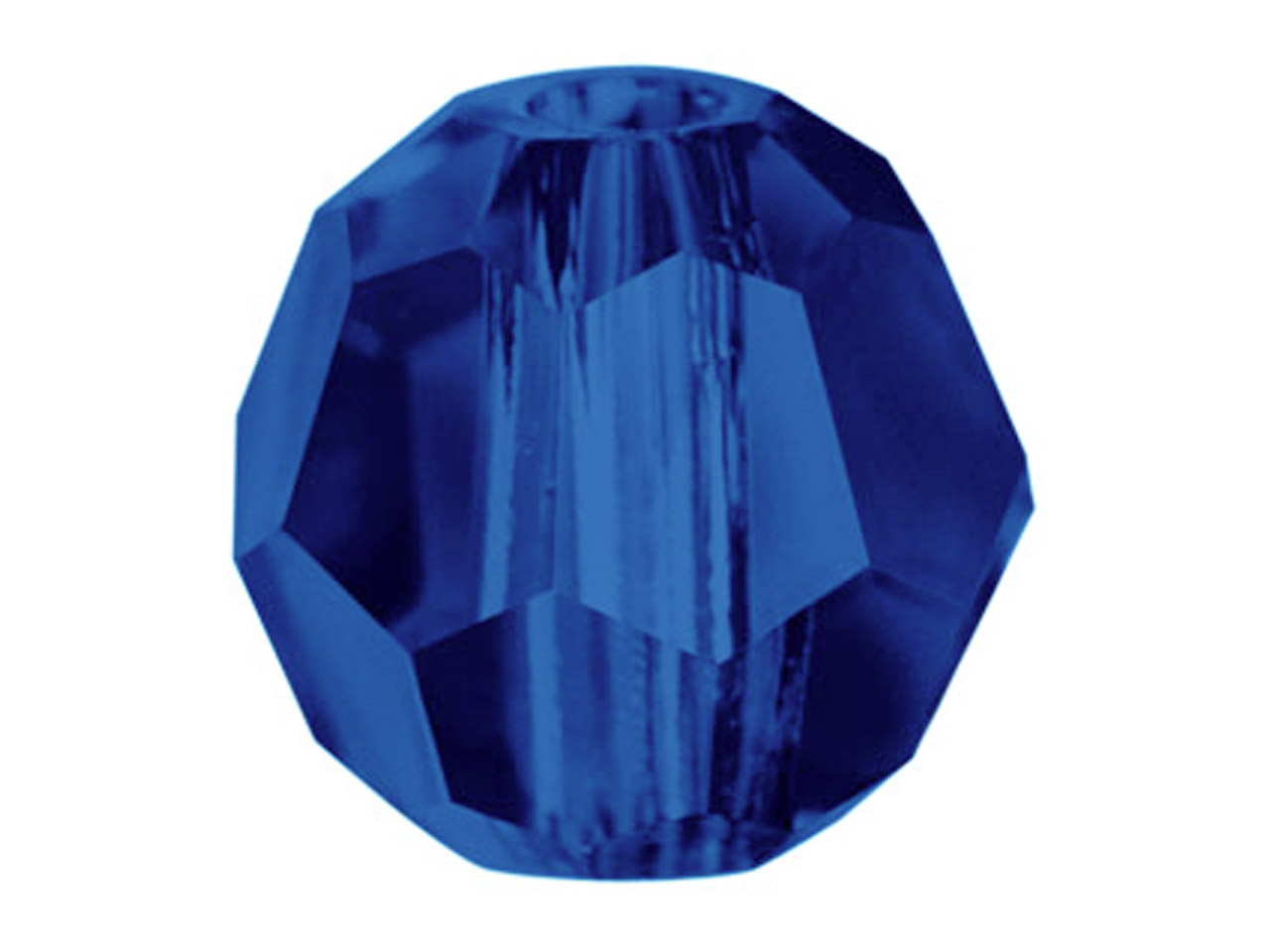Swarovski Crystal Pack of 12,      Round, 5000, 4mm Dark Indigo