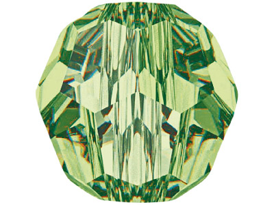 Swarovski Crystal Pack of 12,      Round, 5000, 4mm Peridot