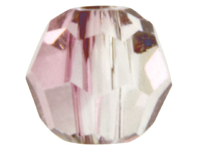 Swarovski Crystal Pack of 12,      Round, 5000, 4mm Antique Pink