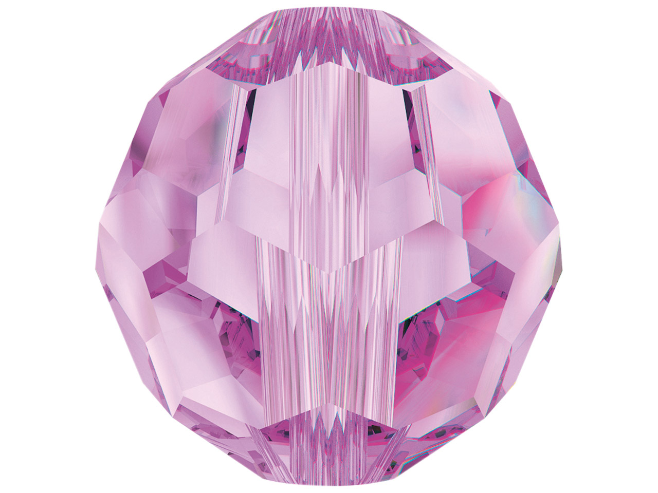 Swarovski Crystal Pack of 12,      Round, 5000, 4mm, Rose