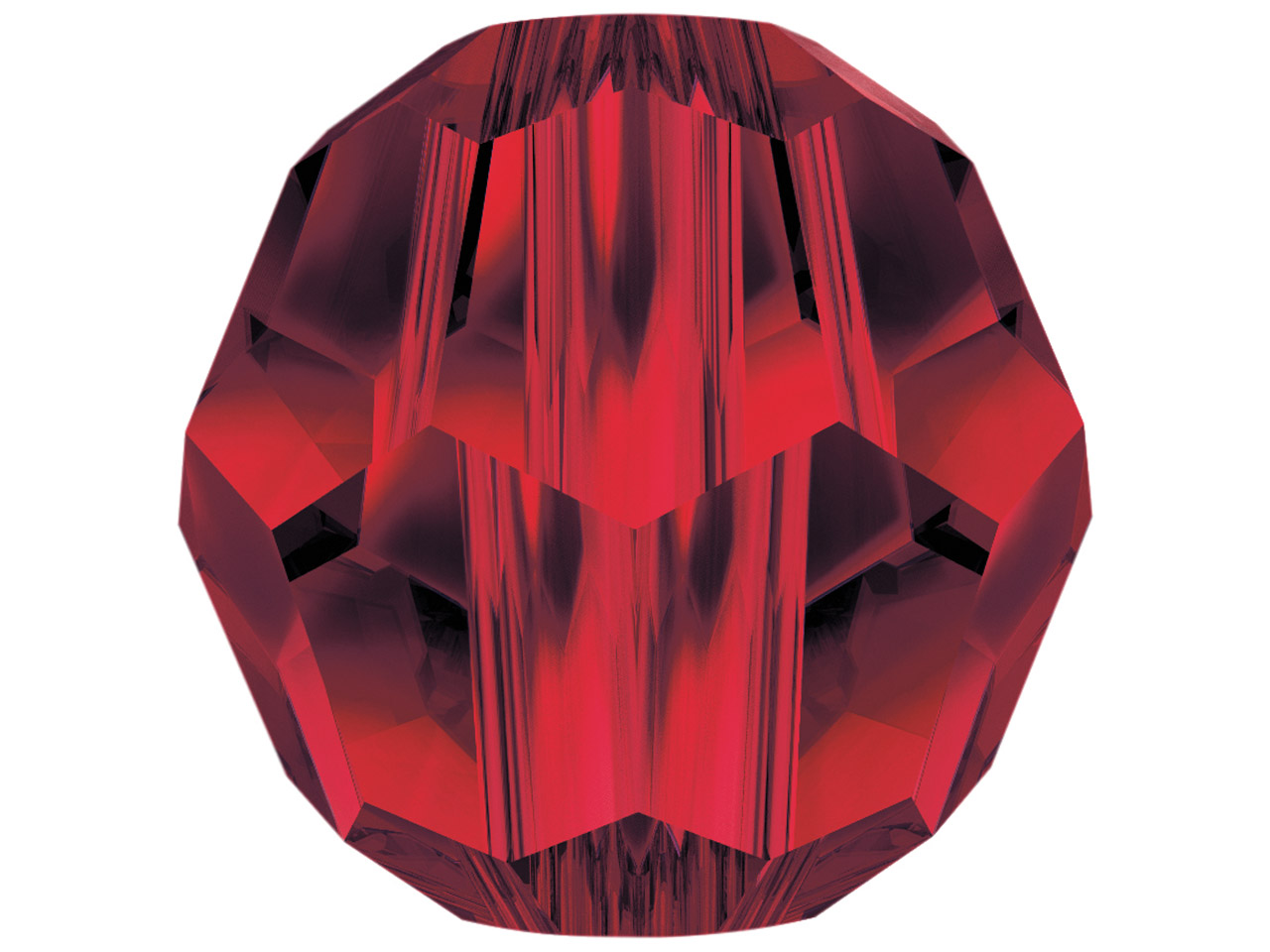 Swarovski Crystal Pack of 12,      Round, 5000, 4mm, Siam