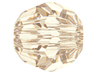 Swarovski Crystal Pack of 12,      Round, 5000, 4mm, Light Silk