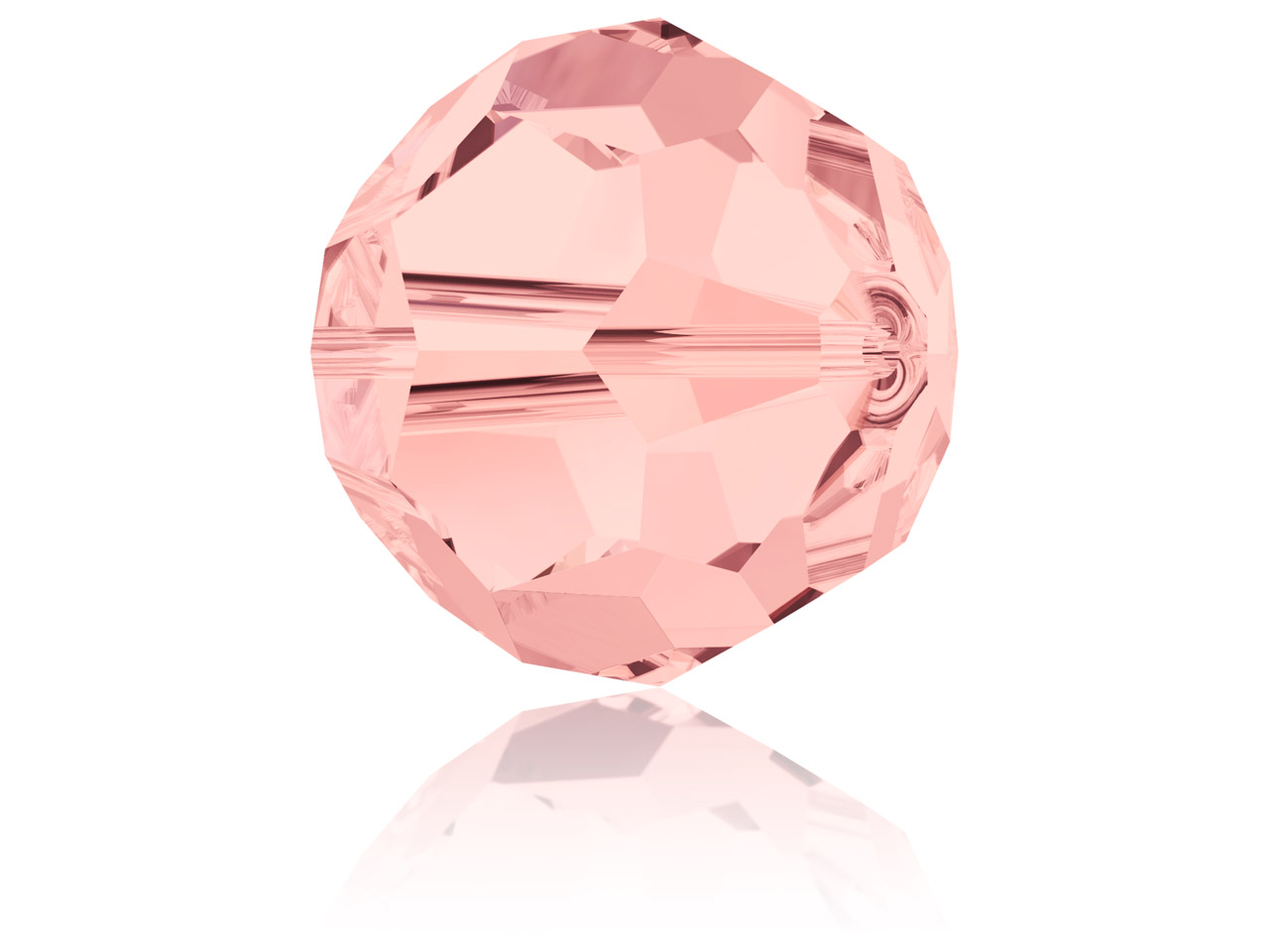 Swarovski Crystal Pack of 12,      Round, 5000, 4mm, Blush Rose