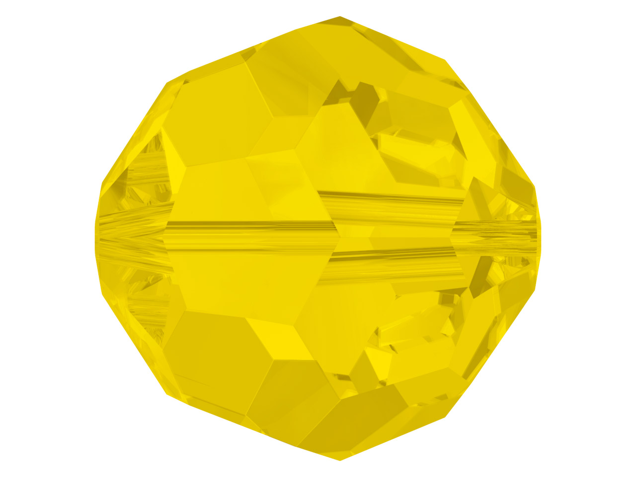 Swarovski Pack of 12, Round, 5000, 4mm, Yellow Opal