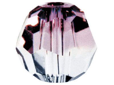Swarovski Crystal Pack Of 12 Round 5000 6mm Antique Pink