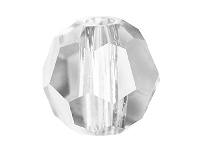 Swarovski Crystal Pack of 6 Round, 5000, 8mm, Crystal