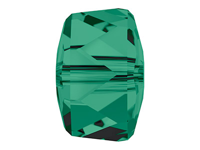 Swarovski Pack of 6 Rondelle Bead, 5045, 8mm, Emerald