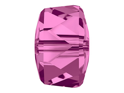 Swarovski Pack of 6 Rondelle Bead, 5045, 8mm, Fuchsia