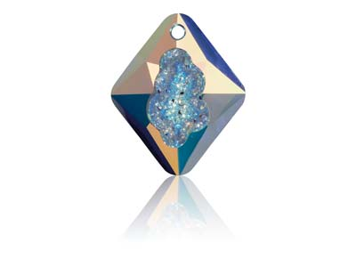 Swarovski Growing Crystal, Pendant, Rhombus, 6926, 26mm, Crystal Ab