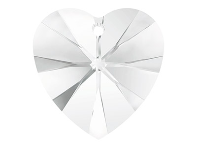 Swarovski Pack of 2 Heart, 6228,   10.3x10mm, Crystal