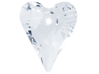 Swarovski Crystal Pack of 2 Wild Hearts 6240 12mm Crystal