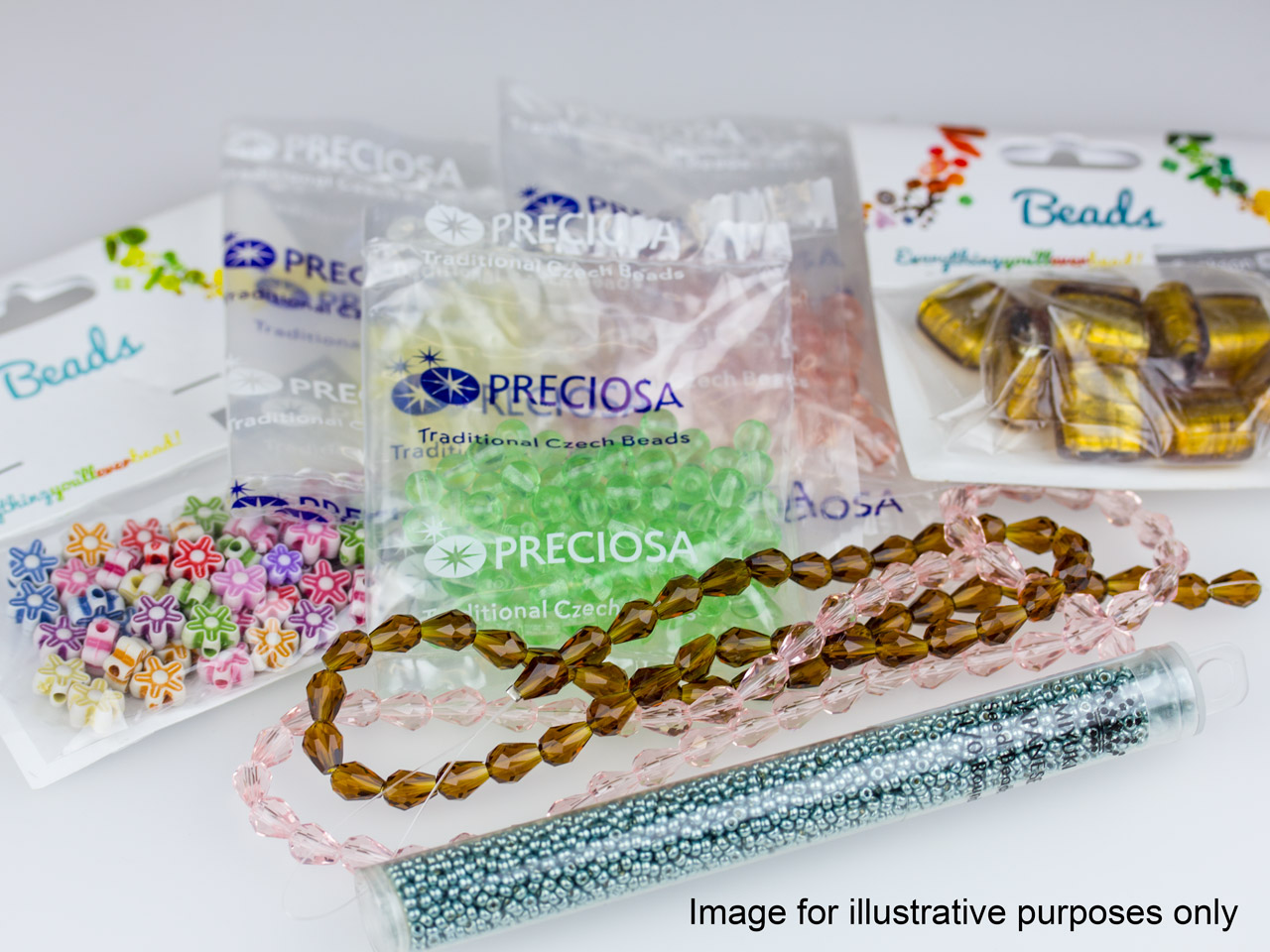 Free £5 Pack Of Assorted Beads