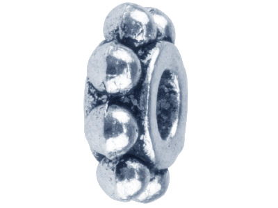 Silver-Tone-Ball-Edged-Spacer-9x3mm-P...