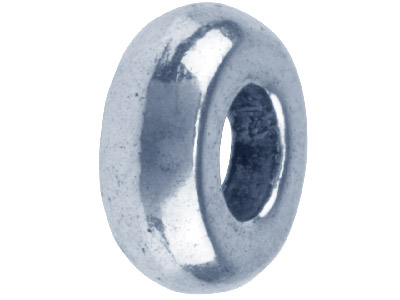 Silver-Tone-Spacer-Plain-9x3.5mm---Pa...