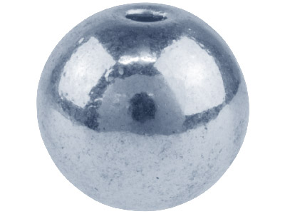 Silver-Tone-Round-Ball-8.5mm-------Pa...