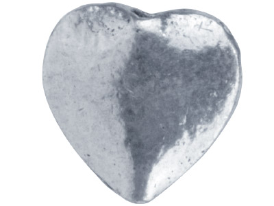 Silver-Plated-Flat-Heart-10mm-Beads-P...