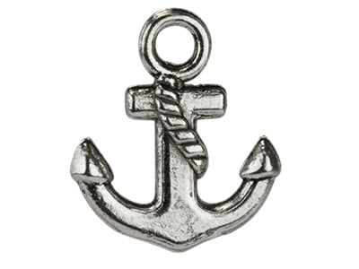 Silver-Tone-Anchor,-15x17mm,-------Pa...