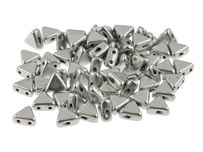 Kheops-Puca-6mm-Czech-Beads,-Silver-A...